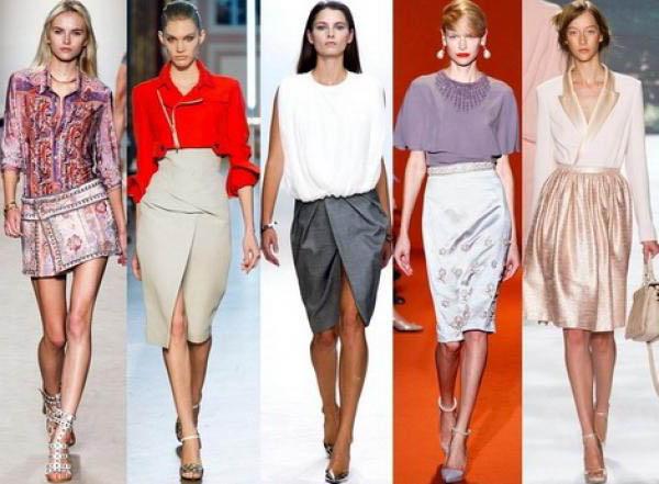 Какие юбки сейчас в моде?