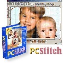 PCStitch 7 - позволяет самому создавать свою вышивку