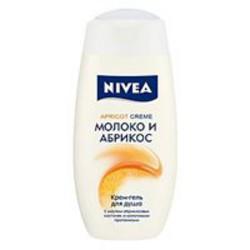 Отзывы о Гель для душа Nivea молоко и абрикос 250мл (Эйвон)